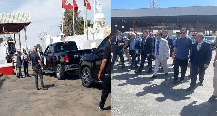 Une délégation libyenne en Tunisie pour la réouverture des frontières