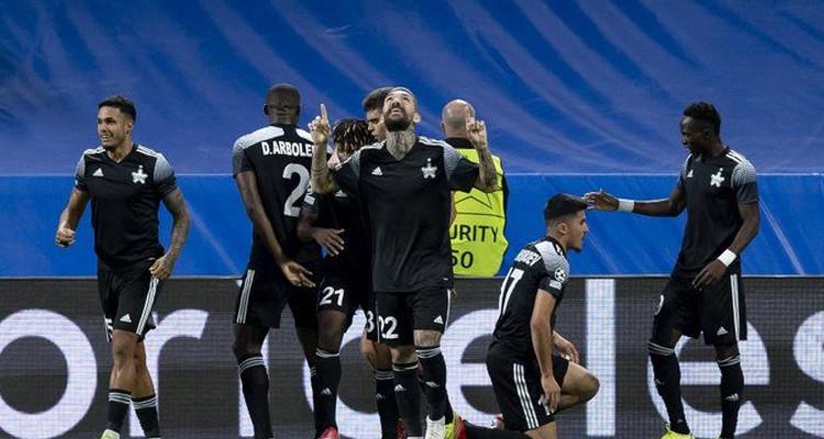 Sheriff Tiraspol bat le Real Madrid dans son fief