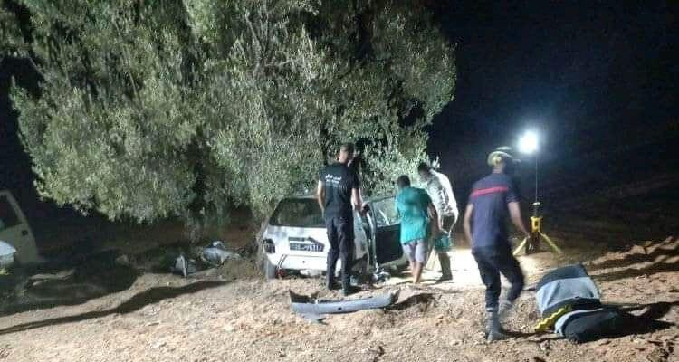 Menzel Cheker : Un accident fait trois victimes