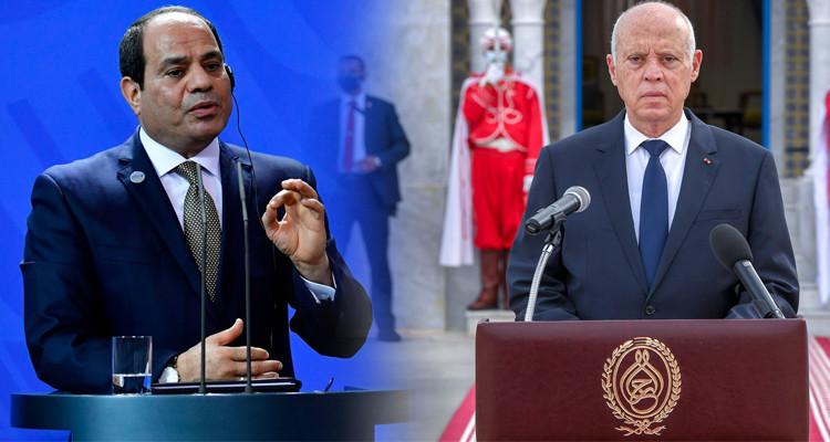 Al Sissi réitère son soutien aux mesures prises par Kais Saied