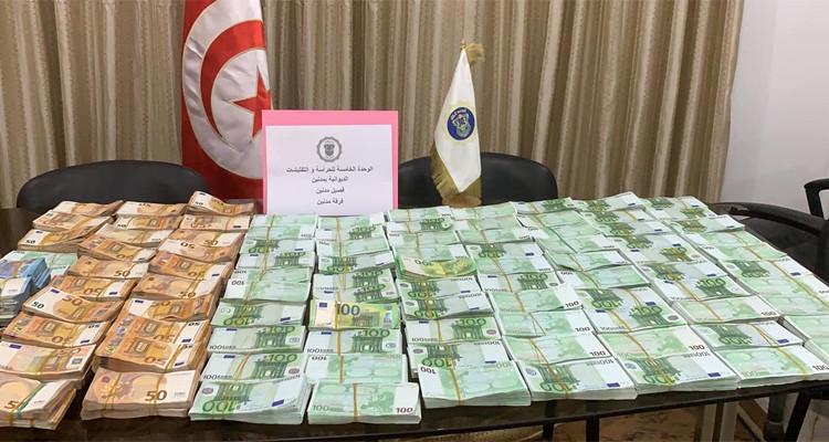 Médenine : Saisie de près d'un million d'euros