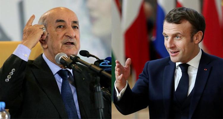 Une déclaration de Macron provoque une crise entre la France et l'Algérie