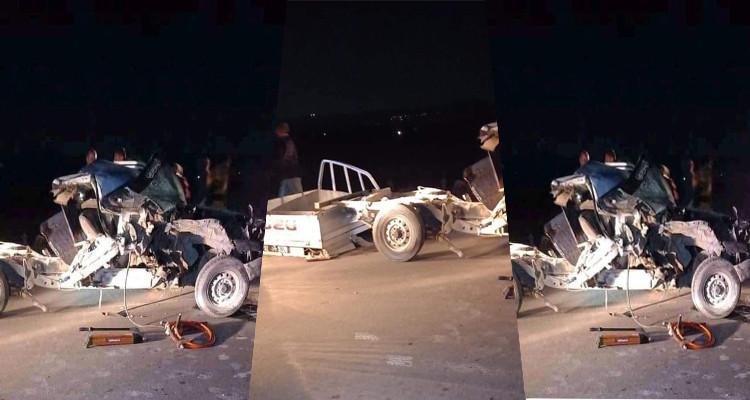 Bousalem : Collision violente entre une voiture et un tracteur