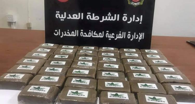 Manouba : Saisie de 40 plaquettes de cannabis dans une voiture