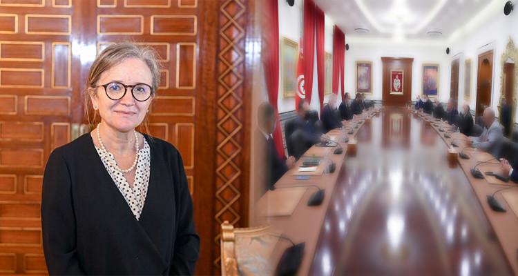 Composition du gouvernement Najla Bouden