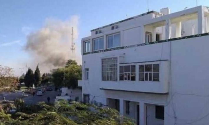 قتلى وجرحى في تفجير انتحاري هز مقر الخارجية الليبية