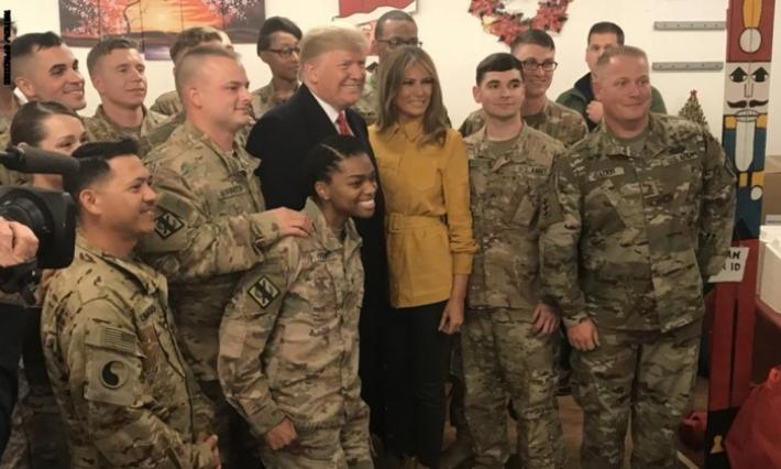 ماذا في زيارة دونالد ترامب المفاجئة للعراق ؟