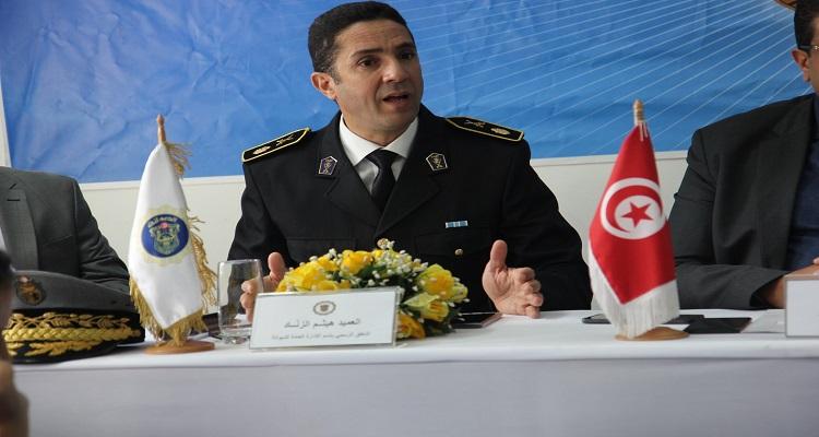 العميد هيثم الزناد الديوانة التونسية