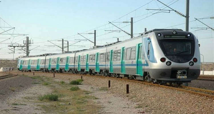 قطار تونس طبربة