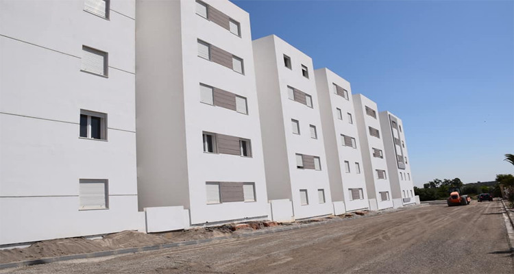 270 شقة ضمن برنامج السكن الاجتماعي ببئر مشارقة