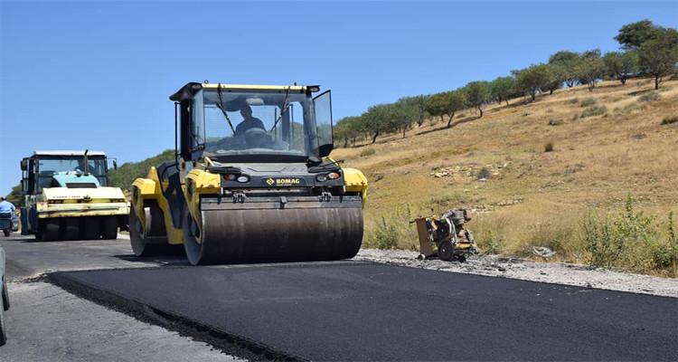 مشروع تدعيم الطريق الوطنية رقم 3 في زغوان
