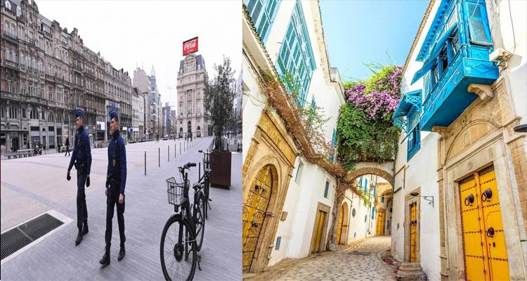 بلجيكا وتونس