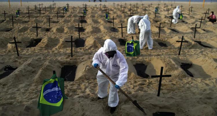 البرازيل تسجل قرابة 40 ألف إصابة جديدة بفيروس كورونا