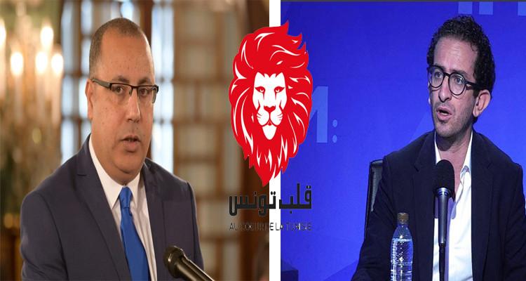 أسامة الخليفي هشام المشيشي قلب تونس