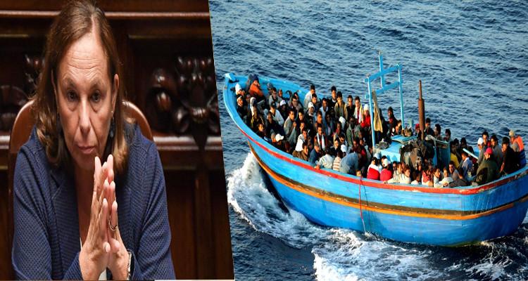 وزيرة الداخلية الإيطالية: كيف يمكننا ترحيل أكثر 5000 تونسي من أراضينا ؟