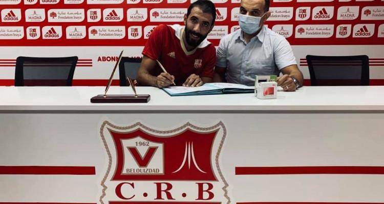 مختاربلخيثر يتعاقد مع نادي شباب بلوزداد الجزائري