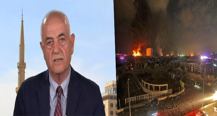 العميد العسكري ناجي ملاعب تفجير بيروت