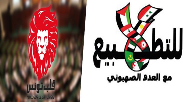 قلب تونس لا للتطبيع