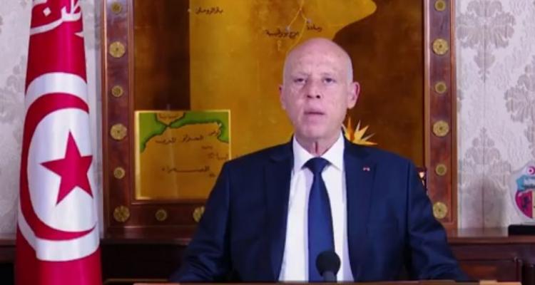 قيس سعيّد : ''للأسف الكثير من الحقوق لم تجد طريقها على غرار حق الشعب الفلسطيني في أرضه'' (فيديو)