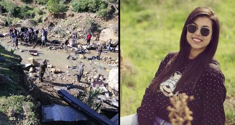 جريحة حادث عمدون مريم بن عزة