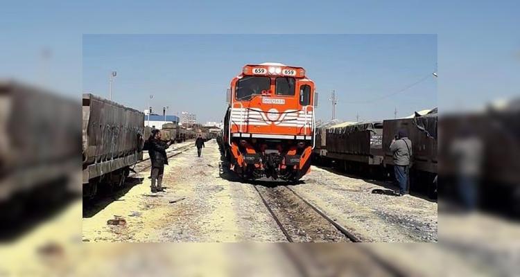 قطار نقل الفسفاط إلى معامل الصخيرة يستأنف نشاطه (فيديو)