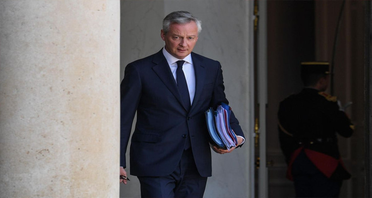 فيروس كورونا يصيب وزير المالية والاقتصاد الفرنسي