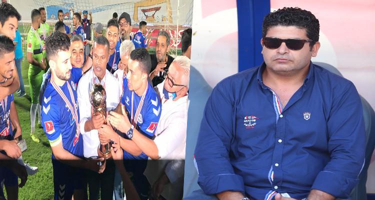 أحمد البلي: موسمنا ناجح على جميع الأصعدة وسنحافظ على المدرب (تسجيل)