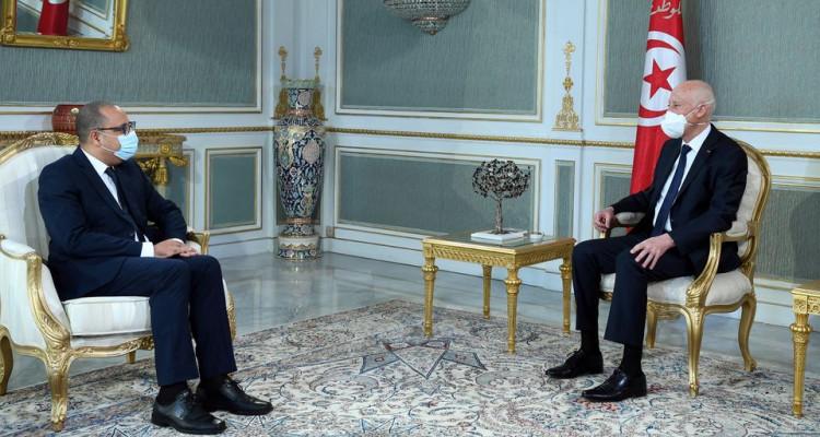 في لقاءه بالمشيشي: سعيد يؤكد على ضرورة أن تكون المرافق العمومية للدولة بمنأى عن الحسابات السياسية