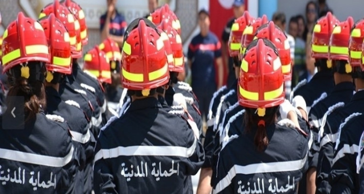 المنستير: ارتفاع عدد أعوان الحماية المدنية المصابين بكورونا