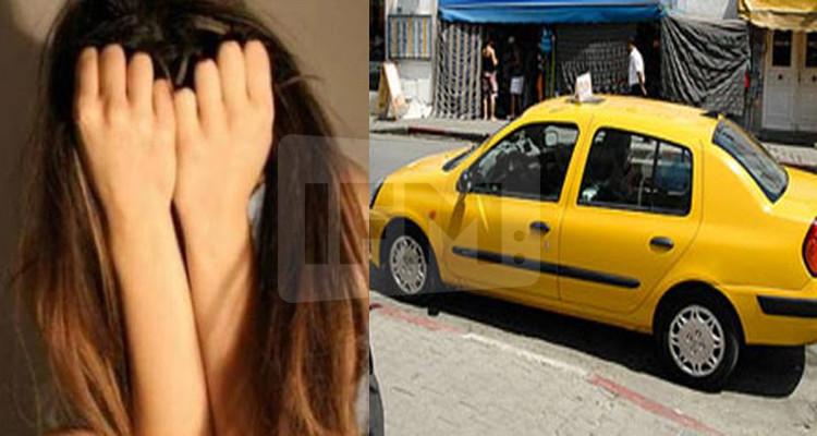 سائق تاكسي تحرش بفتاة