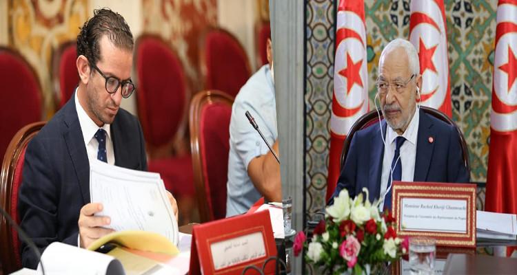 أسامة الخليفي: الغنوشي تفهّم بأن لوائح النهضة الثلاث لا تفيد الشعب التونسي