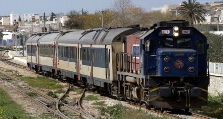 قطار الشركة الوطنية للسكك الحديدية التونسية