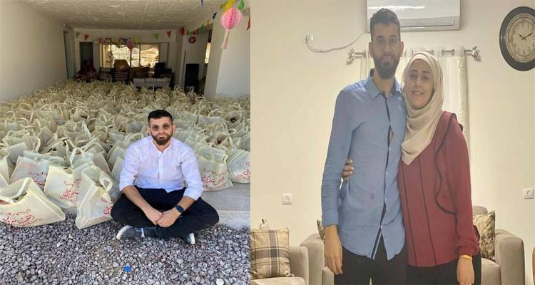 أنس وريهام إغبارية زوجان فلسطينيان