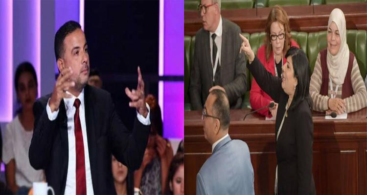 عبير موسي تدعو البرلمان لإدانة العنف المتكرر ضدها من طرف سيف الدين مخلوف