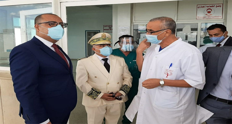 زيارة غير معلنة من المشيشي إلى مستشفى الحبيب بوقطفة