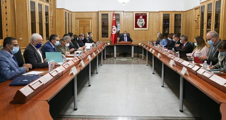 رئيس الحكومة  يترأس اجتماع الهيئة الوطنية لمجابهة فيروس كورونا