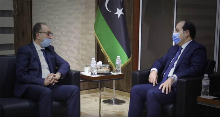 نائب رئيس المجلس الرئاسي الليبي يستقبل السفير التونسي ببلاده