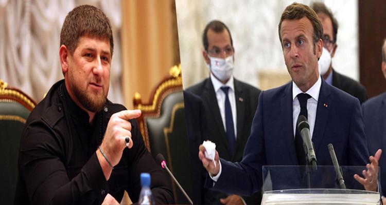 الرئيسان الشيشاني والفرنسي إرهابي