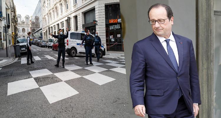 هولند: بات الارهابيون يهاجمون الفرنسيين في عقر دارهم ويذبحونهم كالخرفان