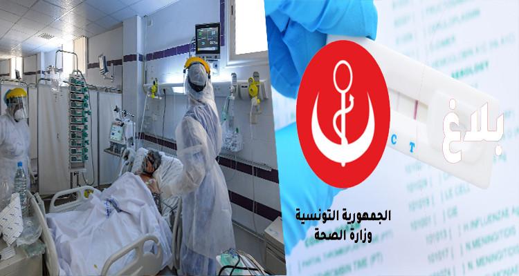 وزارة الصحة تعلن تسجيل 1065 إصابة جديدة بفيروس كورونا
