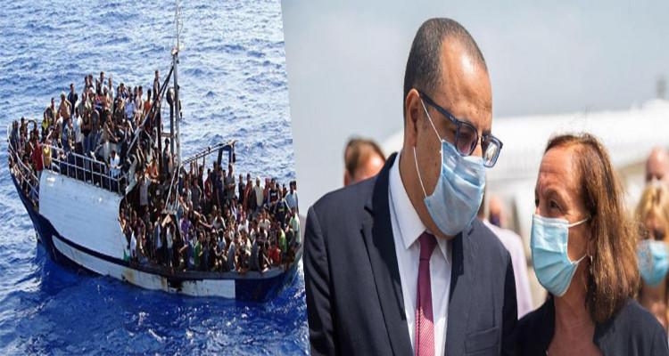 لوتشيانا لامورغيزي:أعداد ''الحراقة التونسيين'' تضاعفت 391% في ظرف سنة واحدة