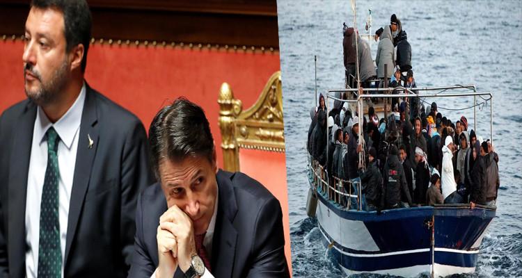 رئيس الوزراء  جوزيبي كونتي هجرة غير شرعية تونس
