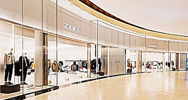 L'enseigne Zara