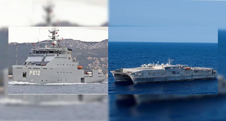 تونس امريكيا تمرين مشترك بحري