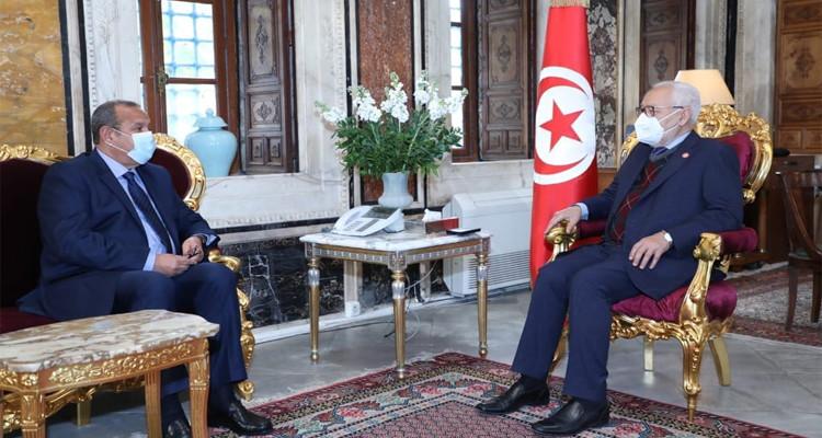 رئيس مجلس نواب الشعب ورئيس الاتحاد التونسي للصناعة والتجارة