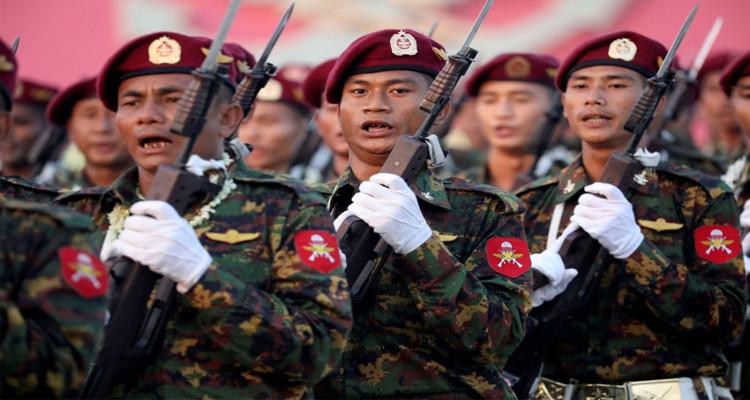 انقلاب عسكري في ميانمار