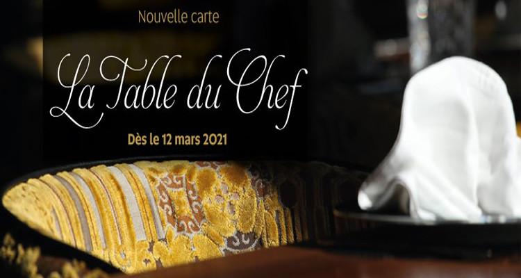 Mövenpick Hotel du Lac Tunis : Lancement Nouvelle Carte Table du Chef