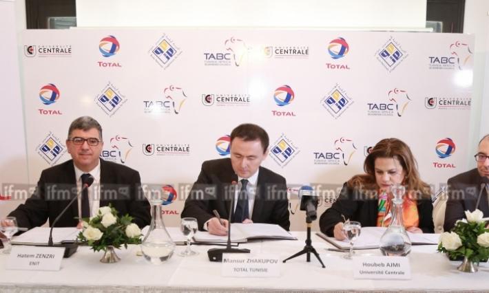 Total Tunisie s'engage pour l'insertion professionnelle des jeunes