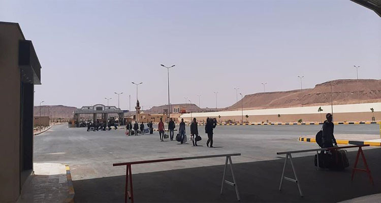 توجيه تونسيين إلى الحجر الإجباري بجربة بعد إجلائهم من ليبيا