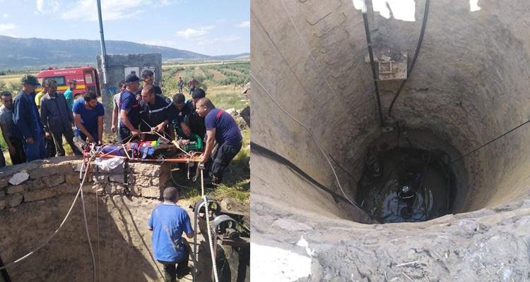 سليانة: انقاذ مسن سقط في بئر عمقها 15 مترا بمنطقة راس الماء